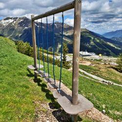 Kletterseile Spielplatz Latschenalm ©Wolfgang Alberty