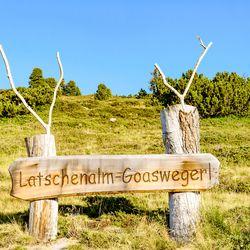 """""""Goaswegerl"""" Latschenalm ©Wolfgang Alberty"""