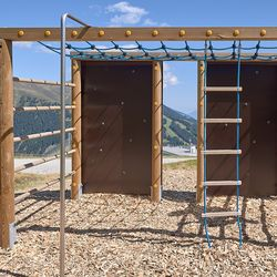 Klettergerüst Spielplatz Latschenalm ©Wolfgang Alberty