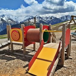 Rutsche Spielplatz Latschenalm ©Wolfgang Alberty